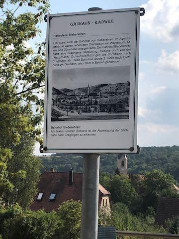 Bergrheinfeld bis Creglingen