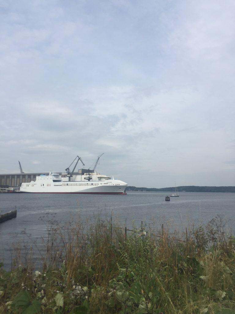 Fähre in Flensburg