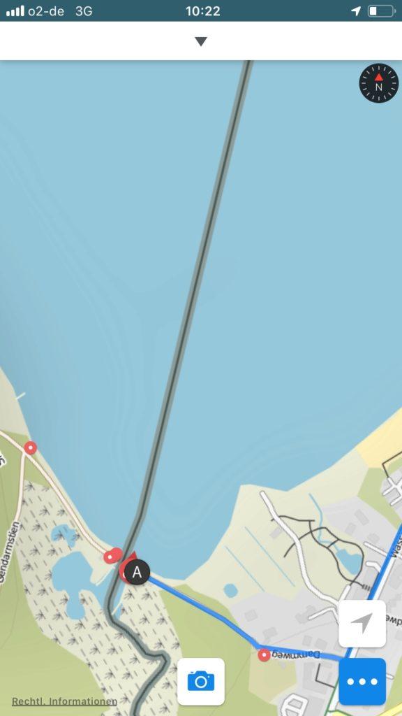 Grenze zu Dänemark bei Flensburg